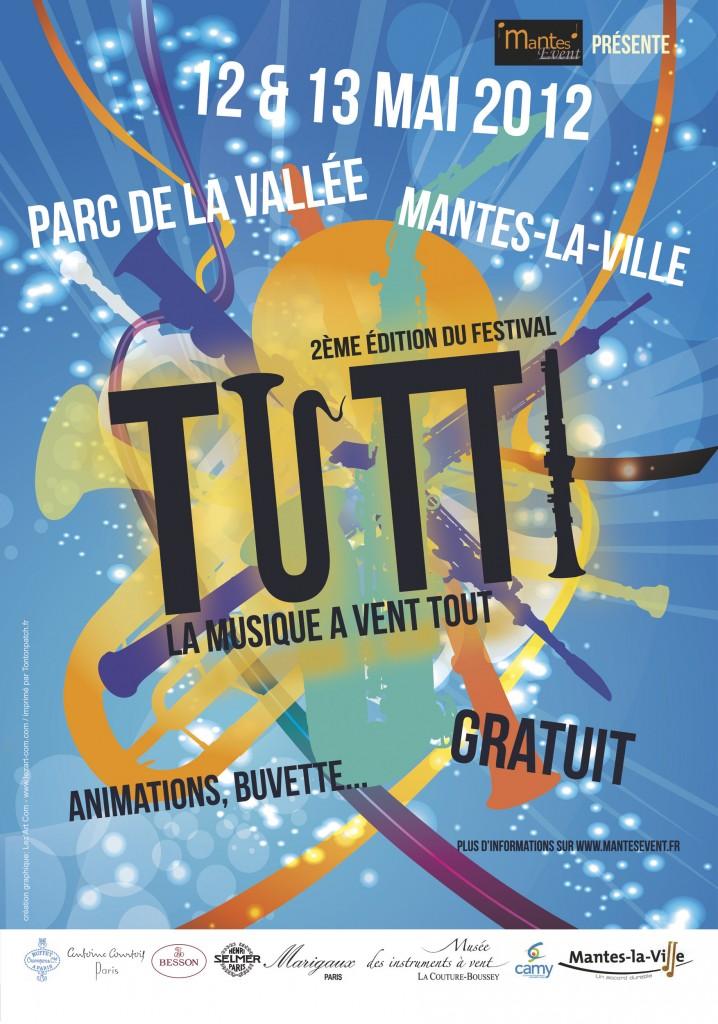 Affiche Festival Tutti 2012