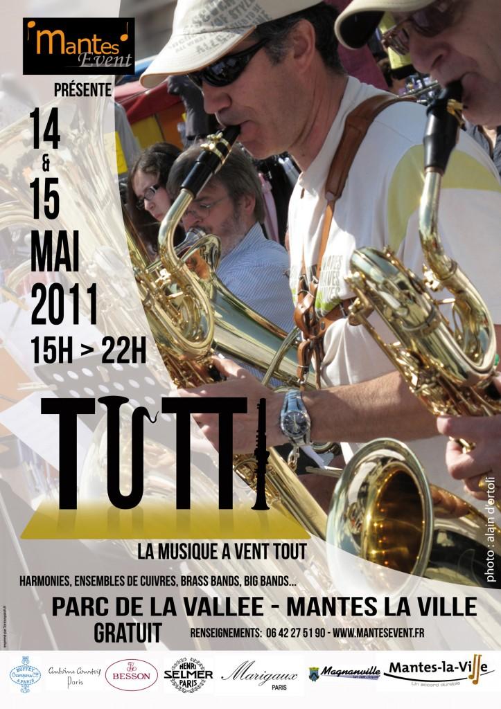 Affiche Festival Tutti 2011